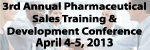 3rd Annual Pharmaceutical Sales Training and Development Conference